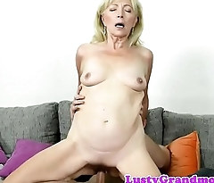 Pussylicked gilf doggystyled by her lover