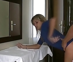 Fucking sexy blonde secretary on business trip in hotel ! More on amateur4u.com