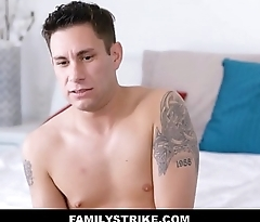 Hot MILF Stepmom With Big Tits Loves Her Son'_s Big Cock