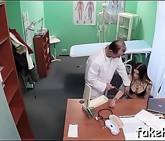 Impure doctor enjoys sex to the max