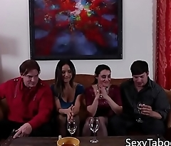 Husband and wife 4way swap partners for sex