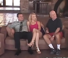 Thin Blonde Wife 1st Time Swinging