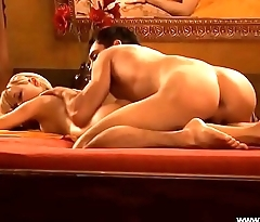 Exotic Blonde Interracial Anal Lover