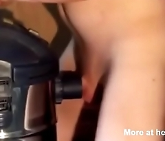 Cock Sucked By Vacuum