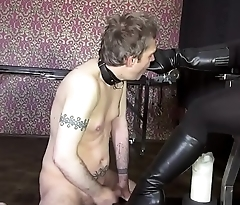 Boot Fucker for His Mistress