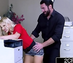 Sexy Ass Business Woman Ashley Fires Needs Big &amp_ Stiff Cock To Set Her Straight