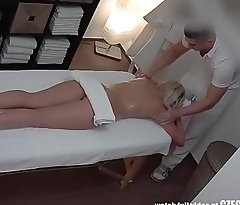 Stunning Blonde Gets Dick to Mouth