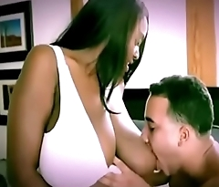 Chubby Ebony Breastfeeding