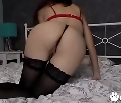 Margo Takes Off Her Gstring &amp_ Fingers Her Pussy