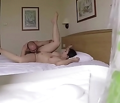Hidden cam in a hotel. RAF010