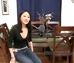 Anal fuck with china girl