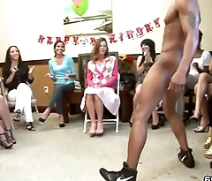 Alana Celebrates Her Birthday With Male Strippers