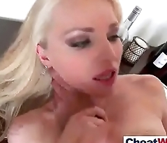 Horny Wife (staci carr) Like Cheating Sex On Camera vid-25