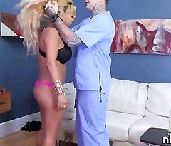 Spicy girl was taken in ass hole madhouse for uninhibited treatment