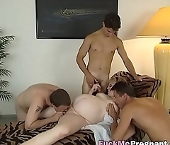 Gang bang for amateur pregnant blonde whoreangbang-freak-on-hi-2