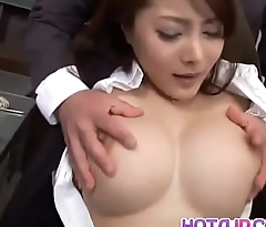 Mei Sawai with big tits is fucked in beaver
