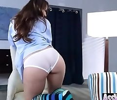 (Remy LaCroix) Hot Girl With Big Oiled Butt Nailed Deep In Her Asshole movie-25