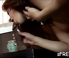 Sensational fake penis insertion